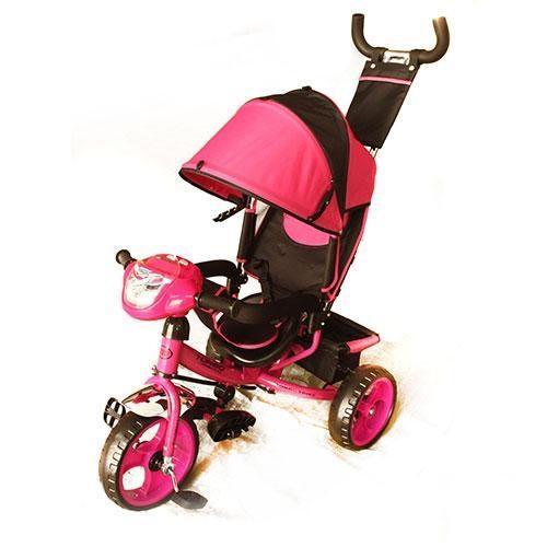 Детский трехколесный велосипед М 3115-6Н розовый