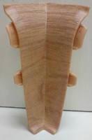 Угол внутренний  к плинтусу Тис с резинкой