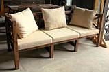 Стол Эмине 2,2м, деревянная мебель для дачи Эмине, фото 6