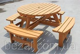 Набор садовой мебели обеденный Камелот №1 (ф1,8-2м)