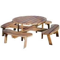 Набор садовой мебели обеденный Камелот №3 (ф1,8-2м)