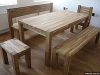 Табурет Мебель садовая из натурального дерева  Альфа