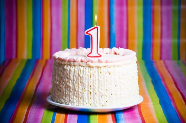 свеча цифра для торта