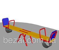 Детская качалка-балансир  деревянная БК – 712К