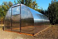 Теплица Казачок арочного типа под поликарбонат или пленку  6*3*2м (дл*шир*выс)