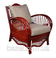 Кресло плетенное из натурального ротанга Нью-Йорк, фото 1
