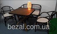 Мебель садовая плетенная из ротанга Флорида, фото 1