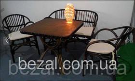 Мебель садовая плетенная из ротанга Флорида