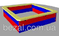 Песочница деревянная большая 1400×1400, фото 1