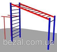 Рукоход с брусьями для детской площадки БК – 775Р