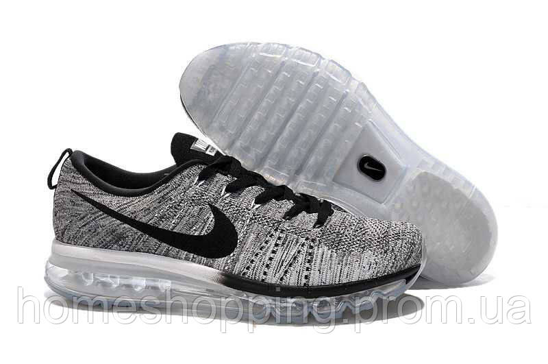 Кроссовки мужские Nike Flyknit Air Max Grey