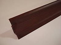 Плинтус напольный ПВХ (ТЕКО-стандарт) 0020 Махонь, фото 1