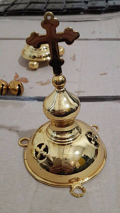 Изготовление религиозных символов из пластика с хромированием и позолотой, фото 2