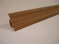 Плинтус напольный ПВХ (ТЕКО-стандарт) 0051 Дуб Рустикальный