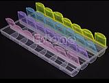 Таблетница Pill Box 4x7 недельная, фото 2