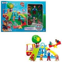 Игровой набор PAW Patrol (Щенячий патруль) - Детская площадка для друзей с фигурками героев.
