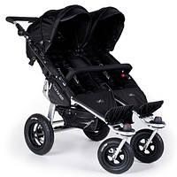 Прогулочная коляска для двойни TFK Twinner Twist Duo black