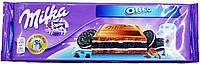 Шоколад молочный Milka Oreo 300г.