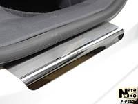 Накладки на пороги Premium Peugeot 308 5D 2007-