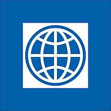 Флаг Всемирного Банка (Аппликация) - (1м*1.5м)