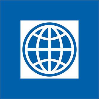 Флаг Всемирного Банка (Аппликация) - (1м*1.5м), фото 2