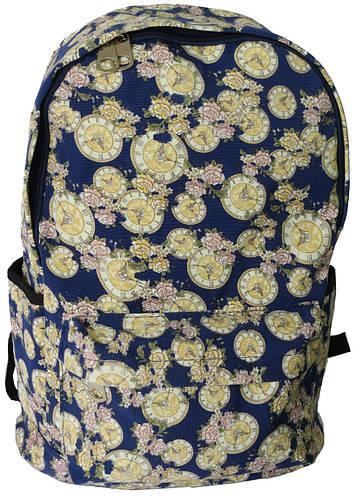 Оригинальный стильный женский городской рюкзак 14 л. Urban, 8814 синий