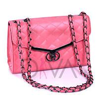 """Качественный клатч """"Chanel Boy"""" стеганый  923corall купить женский клатч дешево"""