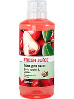 Пена для ванн Rose Apple&Guava 1л Fresh Juice