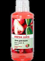 Пена для ванн Rose Apple&Guava 1л Fresh Juice