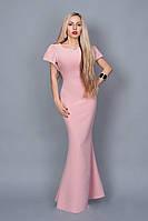 Длинное вечернее платье мод 238-2 (А.Н.Г.) размер 44,46,48 розовое
