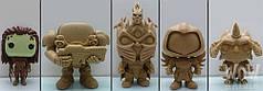 Изготовление фигур любимых героев из пластмассы