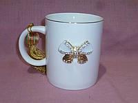 """Чайная чашка """"Принцесса"""" 9,5 сантиметров высота 300 мл"""