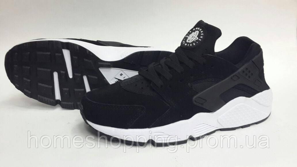Кроссовки Мужские Nike Huarache (замша)