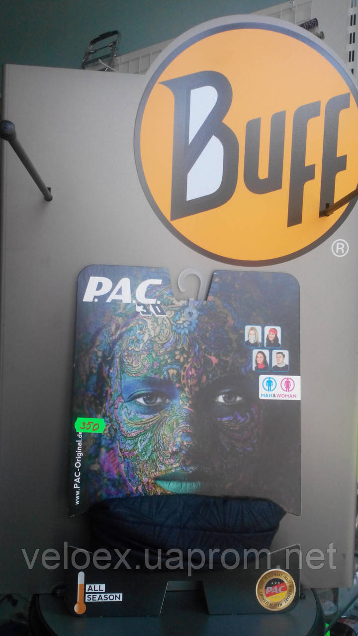 Головной убор P.A.C. 3D Morosko Black