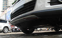 Алюминиевая накладка на передний бампер Volkswagen Tiguan 2007-2012, фото 1