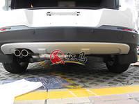 Накладка на задний бампер Volkswagen Tiguan 2007-2012