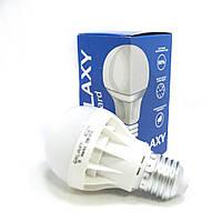 Лампа E27 LED Galaxy Standard 5W 3500K. Лампа светодиодная. Лампочка для дома.