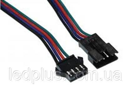 Коннектор 4PIN M/F с проводами