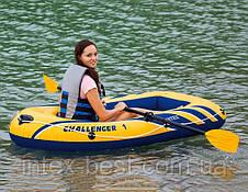Надувная лодка Challenger 1 Intex 68365, фото 2