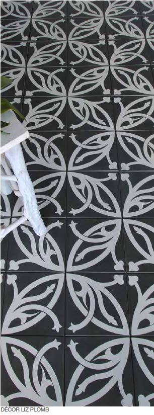 Декоративная плитка в марокканском стиле для пола