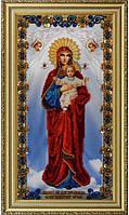 Набор для вышивания бисером Икона Божией Матери «Благодатное Небо» P-177