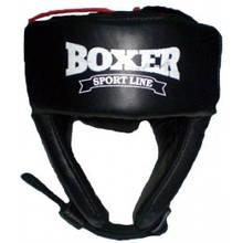 Шлем боксёрский кожа Boxer