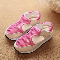 Кроссовки для девочки летние с сеткой