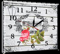 Часы под стеклом 20 х 25 см