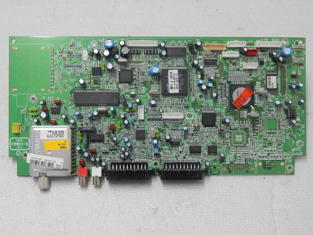 MAIN  BOARD 17MB11-6 для телевизора dual dptv 4210,LGV7