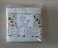 Салфетки 10см х 10см из нетканого впитывающего материала спанлейс в пачке, 40г/м2, 100 шт, Panni Mlada