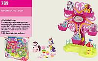 Игровой набор My Little Pony - Колесо обозрения с фигурками героев и аксессуарами.