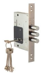 Дверной замок BARRERA L-S-257-CR