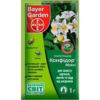 Инсектицид Конфидор Макси 70% в.г. 1 гр Bayer Garden
