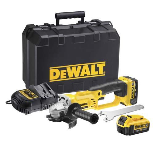 Аккумуляторная угловая шлифмашина DeWALT DCG412M2